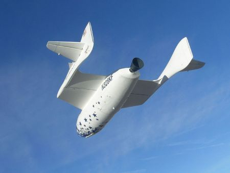 Spaceshipone Virgin Galactic - Creative Commens